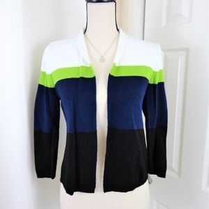 Liz Claiborne Open Cardigan Sweater S
